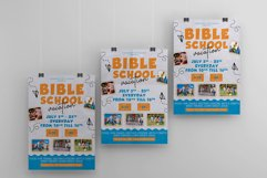 Bible Vacation School A4 Flyer PSD Template Product Image 3