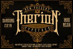 Therion Typeface + Ornament Bonus Product Image 1