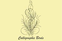 Calligraphic Birds Product Image 3