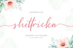 Shettricka - Modern Calligraphy Product Image 1