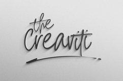 The Golden Rich- An Unique Handwritten Font Product Image 3