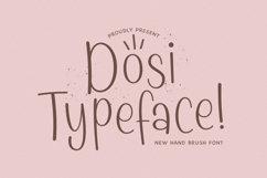 Web Font Dosi Product Image 1