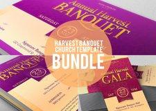 Harvest Banquet Template Bundle Product Image 1