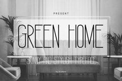 GREEN HOME Sans Serif Font Product Image 1