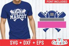 Baseball SVG Template 0010, svg cut file | Shirt Design Product Image 1