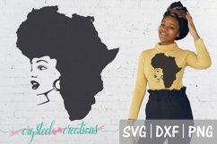 Afro Bundle 5 Different files SVG, DXF, PNG, Afro svg Product Image 4