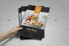 Food Menu Bifold-Trifold Brochure Product Image 6