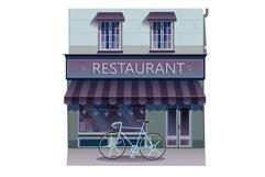 Restaurant illustration Product Image 1