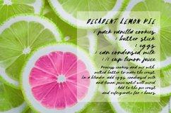 Lemon Pops Hand Drawn Script Font Product Image 3