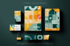 Square geometry pattern collection Product Image 2