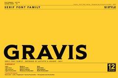 Gravis - Serif font family Product Image 1