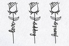 Wedding, Rose SVG, Love SVG. Valentine, Valentines SVG, Product Image 5