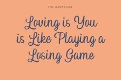 Hampshire Elegant Script Product Image 2