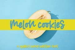Web Font Melon Cookies - A Quirky Hand-Written Font Product Image 1