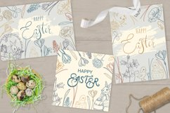 7 Easter cards vector V3 Product Image 2