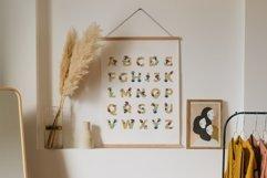 Floral Alphabet Printable, ABC Nursery Wall Art Product Image 1