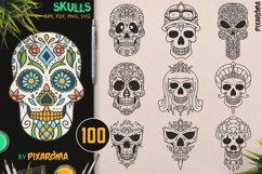 100 Decorative Skulls Product Image 1