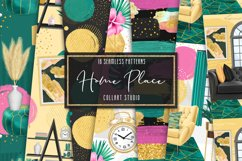 Home digital paper, furniture papers, seamless patterns Product Image 1