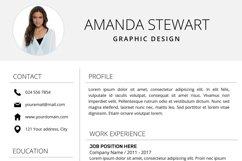 Resume Template | CV Cover Letter - Amanda Stewart Product Image 6