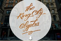 King City - Logo Type Calligraphy Product Image 2