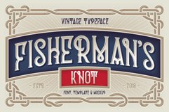 Fisherman's Knot. Font & Graphics Product Image 1