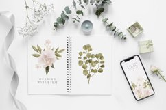 Boho floral clipart, spring flower elements Product Image 3