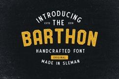 Barthon Typeface Combo 7Fonts! Product Image 1