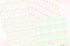 Easter Bunny Seamless Patterns Digital Papers Product Image 2