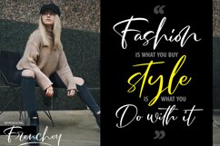 Frenchoy | Handwriting Script Font Product Image 4