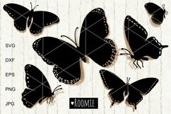 Butterfly SVG, Butterflies vector clipart Cut files papercut Product Image 1