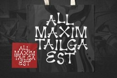 Web Font Maximos Font Product Image 3