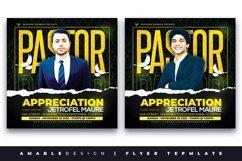 Pastors Appreciation Church Flyer Product Image 1