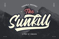 Sunkill Script Font Product Image 1