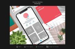 Social Media Branding Mockup for Instagram/App mockups 4 Product Image 1