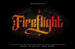 FireFlight   Blackletter Modern Font Product Image 1
