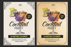 Cocktail Party Flyer Template Product Image 1