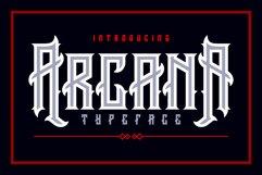 Arcana Typeface Product Image 1