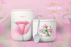 Tulips Watercolor Floral Bundle Product Image 6