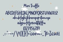 Web Font Mini Truffle - Cute Handlettering Font Product Image 4