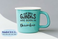 The best grandpas are born in December design Product Image 1