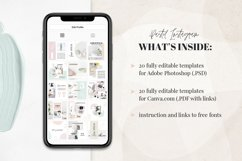 Canva Instagram Templates Pastel Product Image 5