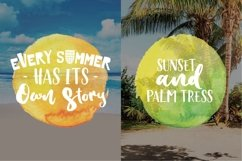 Waves Vibes Trio font Product Image 5