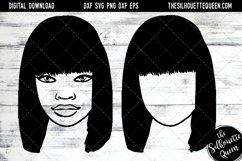 Afro Hair - Straight Bob Full Bangs Product Image 1