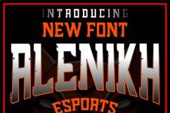 Alenikh Esports Font Logo Product Image 6