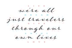 Were all just travelers quote design Product Image 3