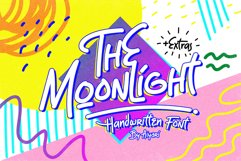 The Moonlight - Handwritten Font Product Image 1