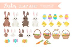 PNG Easter clipart, easter illustrations and graphics Product Image 1