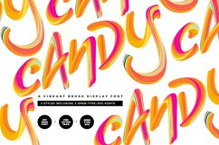 Candy Colour Font Product Image 1