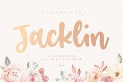 Jacklin Modern Handwritten Font Product Image 1