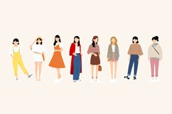 Fashion Vector Illustrations Product Image 3